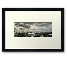 Sydney Panorama Framed Print