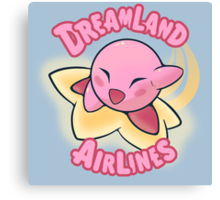 Dreamland Airlines Canvas Print
