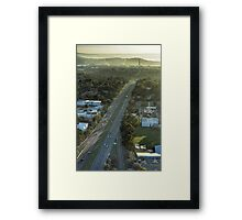 All roads lead to Capital Hill Framed Print