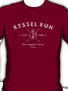 Kessel Run White T-Shirt