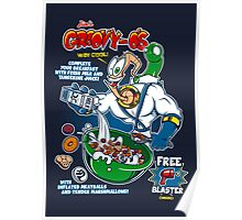 Groovy-Os Cereal Poster
