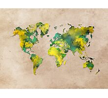 World Map 2040 Photographic Print