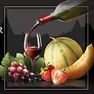 """Association pour la promotion des vins et des produits du terroir de l'Albret - Présente pour la reception du vernissage """"Une Oeuvre …Un Secret """"  by Andre  Furlan"""