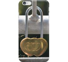 Love Locked iPhone Case/Skin