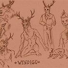 Wendigo study by Furiarossa