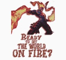 Brand - Ready to set the world on fire by CataRB