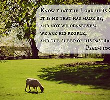 psalm 100 sheep by Kimberose