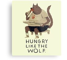 hungry like the wolf Metal Print