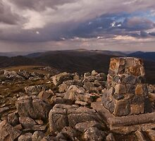 kosciuszko - Summit View 04 by Timothy Kenyon