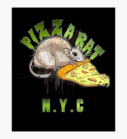 Pizz A Rat - NYC Photographic Print
