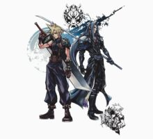 Sephirot and Cloud by rising94