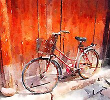 Bicycle in China by candysfamily