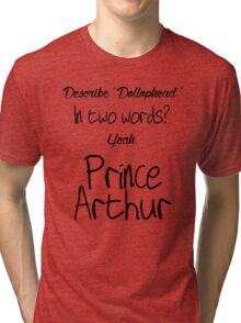 Describe 'Dollophead' Tri-blend T-Shirt