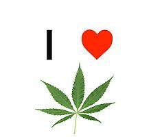 I love Marihuana by jangelius14