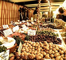 Street Market- Fresh produce from paris by jb08067