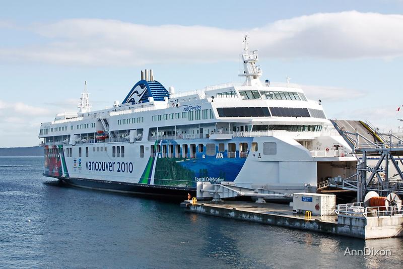 BC Ferries Victoria BC by AnnDixon