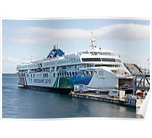BC Ferries Victoria BC Poster