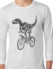 Skeleton Fossil Love Bike  Long Sleeve T-Shirt