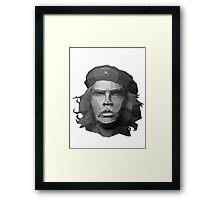 Che Guevara - Geometric Art Framed Print