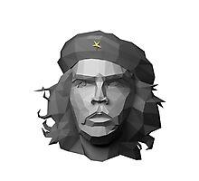 Che Guevara - Geometric Art Photographic Print
