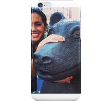 A Girl and Her Bear iPhone Case/Skin