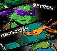 TMNT Kickass style! by djprice