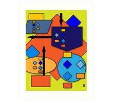 """Algorithmically""© Art Print"