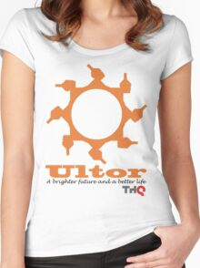 Ultor corporation Women's Fitted Scoop T-Shirt