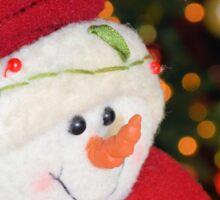 Frosty Christmas 1 Sticker