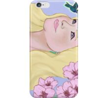 Dreams of a humming bird iPhone Case/Skin