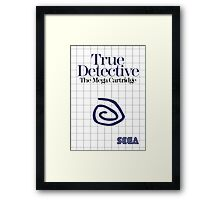 True Detective - Master System Box Art Framed Print