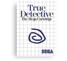 True Detective - Master System Box Art Canvas Print