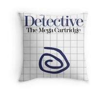 True Detective - Master System Box Art Throw Pillow