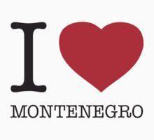 I ♥ MONTENEGRO by eyesblau