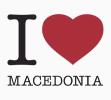 I ♥ MACEDONIA T-Shirt