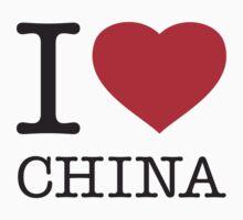 I ♥ CHINA by eyesblau
