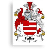 Fuller Coat of Arms / Fuller Family Crest Canvas Print