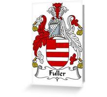 Fuller Coat of Arms / Fuller Family Crest Greeting Card