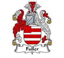 Fuller Coat of Arms / Fuller Family Crest Photographic Print