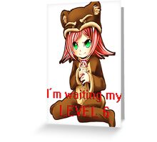 Annie League of Legends Greeting Card