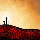 Forgiven - Christian Art By Sharon Cummings by Sharon Cummings