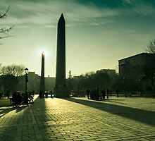 Istanbul Obelisk by saaton
