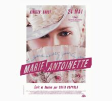 Marie Antoinette French Movie Poster One Piece - Short Sleeve