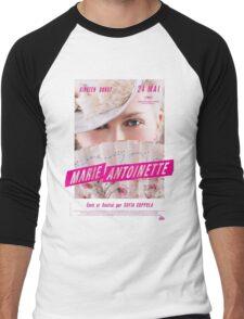 Marie Antoinette French Movie Poster Men's Baseball ¾ T-Shirt