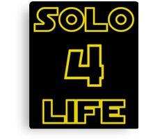 Solo 4 Life Canvas Print