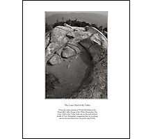 The Lone Chief of the Valley Limited Edition Print Photographic Print