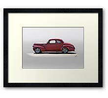 1940 Chevrolet Master Deluxe Coupe Framed Print