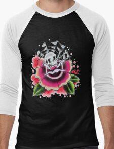 skull n rosa Men's Baseball ¾ T-Shirt