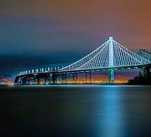 San Francisco-Oakland Bay Bridge Eastern Span by Jerome Obille