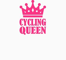 Cycling queen champion Womens Fitted T-Shirt